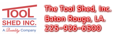 The Tool Shed, 1856 Wooddale Court Baton Rouge 225-926-6500